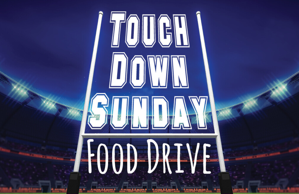Touchdown Sunday Food Drive
