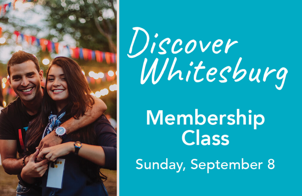 September 8 Membership Class