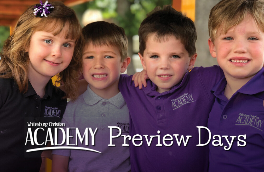 Academy Preview Day January 30