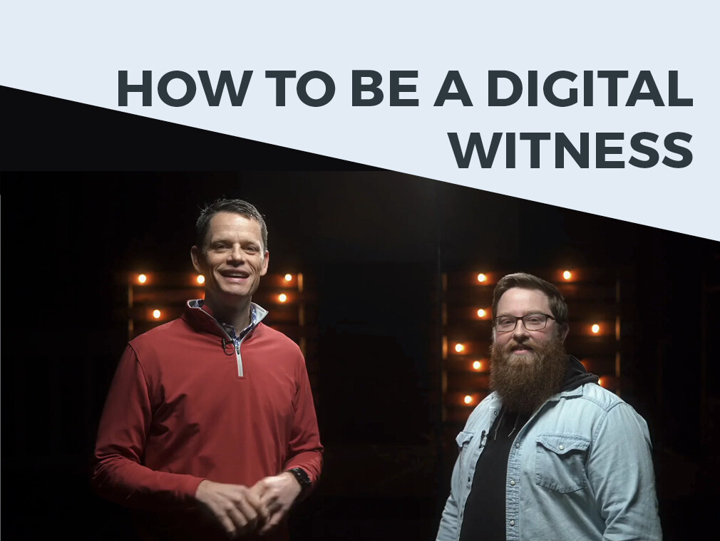 How to be a Digital Witness