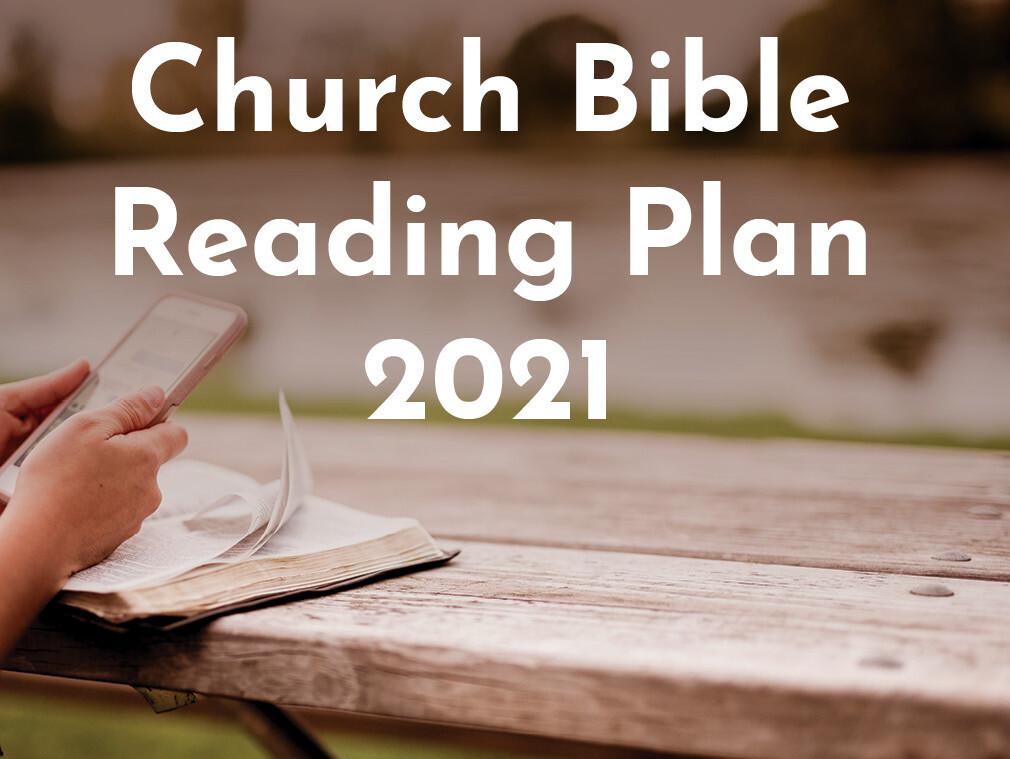Church Bible Reading Plan