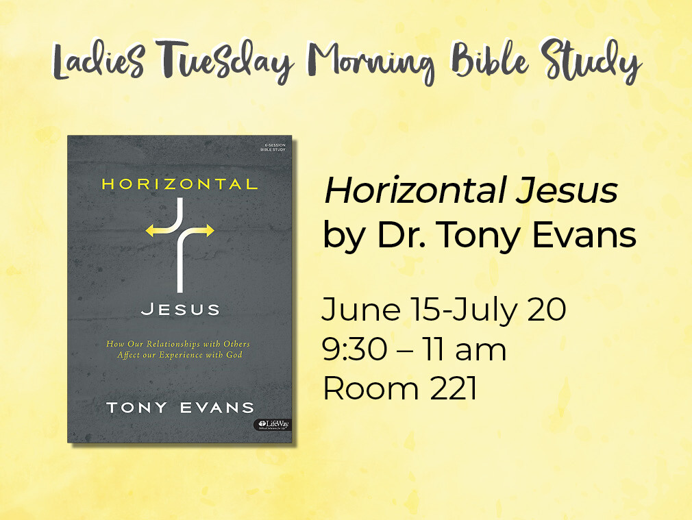 Summer 2021 Tuesday Morning Bible Study