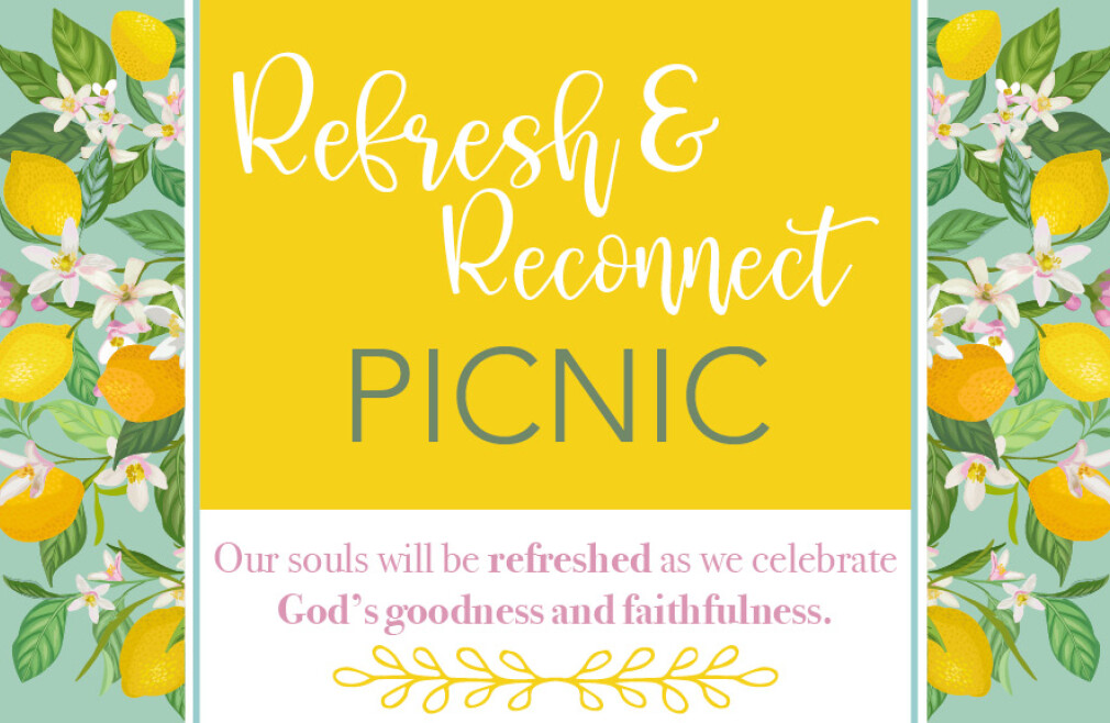 Refresh & Reconnect Picnic