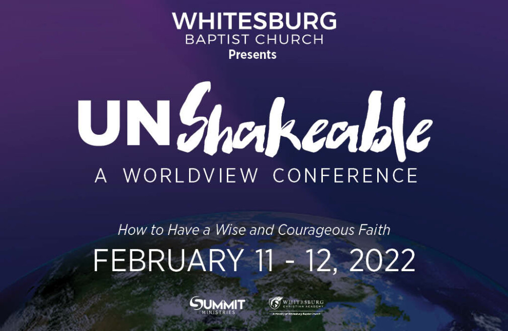 Unshakeable Worldview Conference
